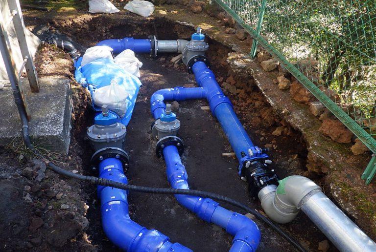 施工後の配管