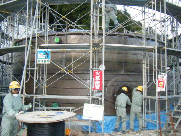 KBOタンク施工